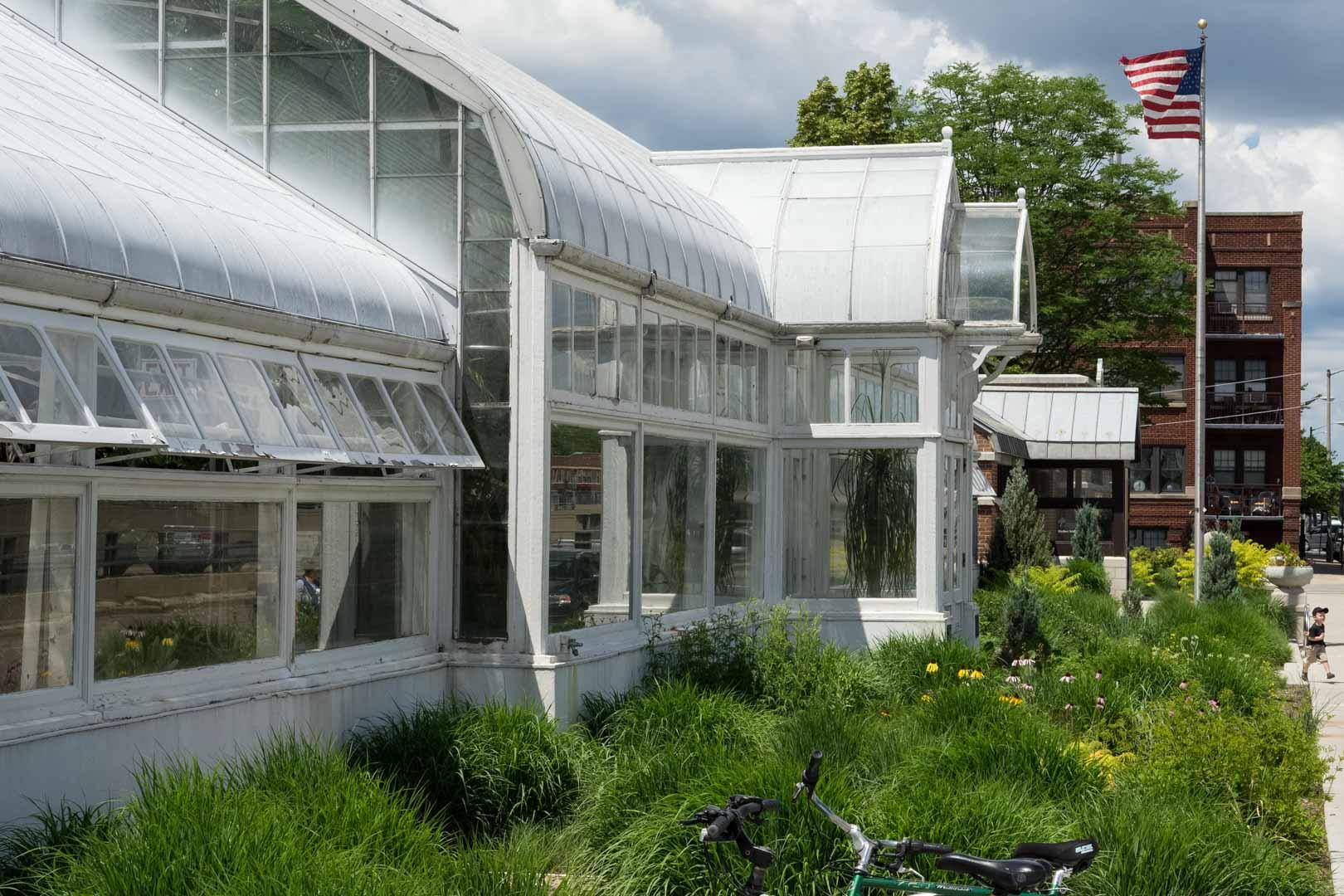 Oak Park Conservatory front
